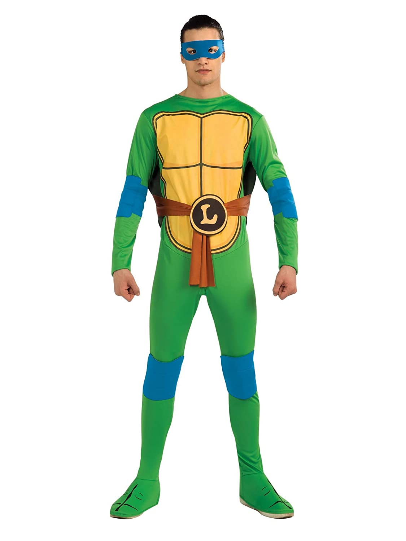 Amazon.com: Nickelodeon TMNT Leonardo disfraz de adultos y ...