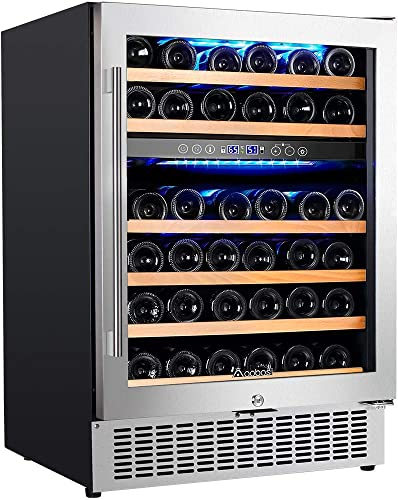 【Upgraded】Aobosi-24-Inch-Built-in-Wine-Cooler