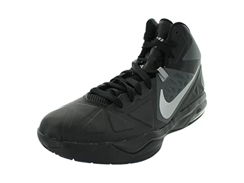 773bedb15713 Nike Men s Air Max Body U TB Black Metallic Silver Drk Grey Basketball Shoes