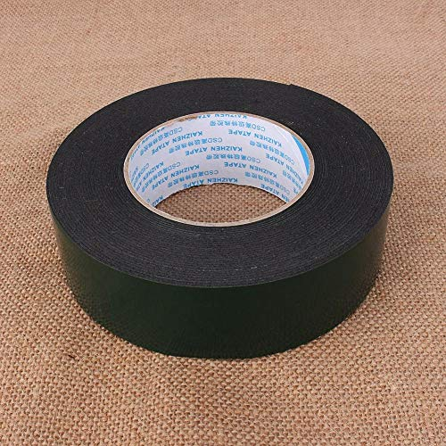 FTVOGUE 10 m (40 mm)Double Sided Sponge Tape 1mm Thickness PE Foam Sticky Mounting Adhesive Tape for Automotive Window Mounting