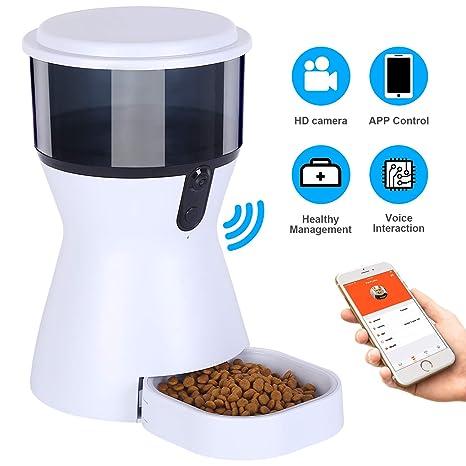 Amazon.com: Guamar - Comedero automático para gatos y perros ...