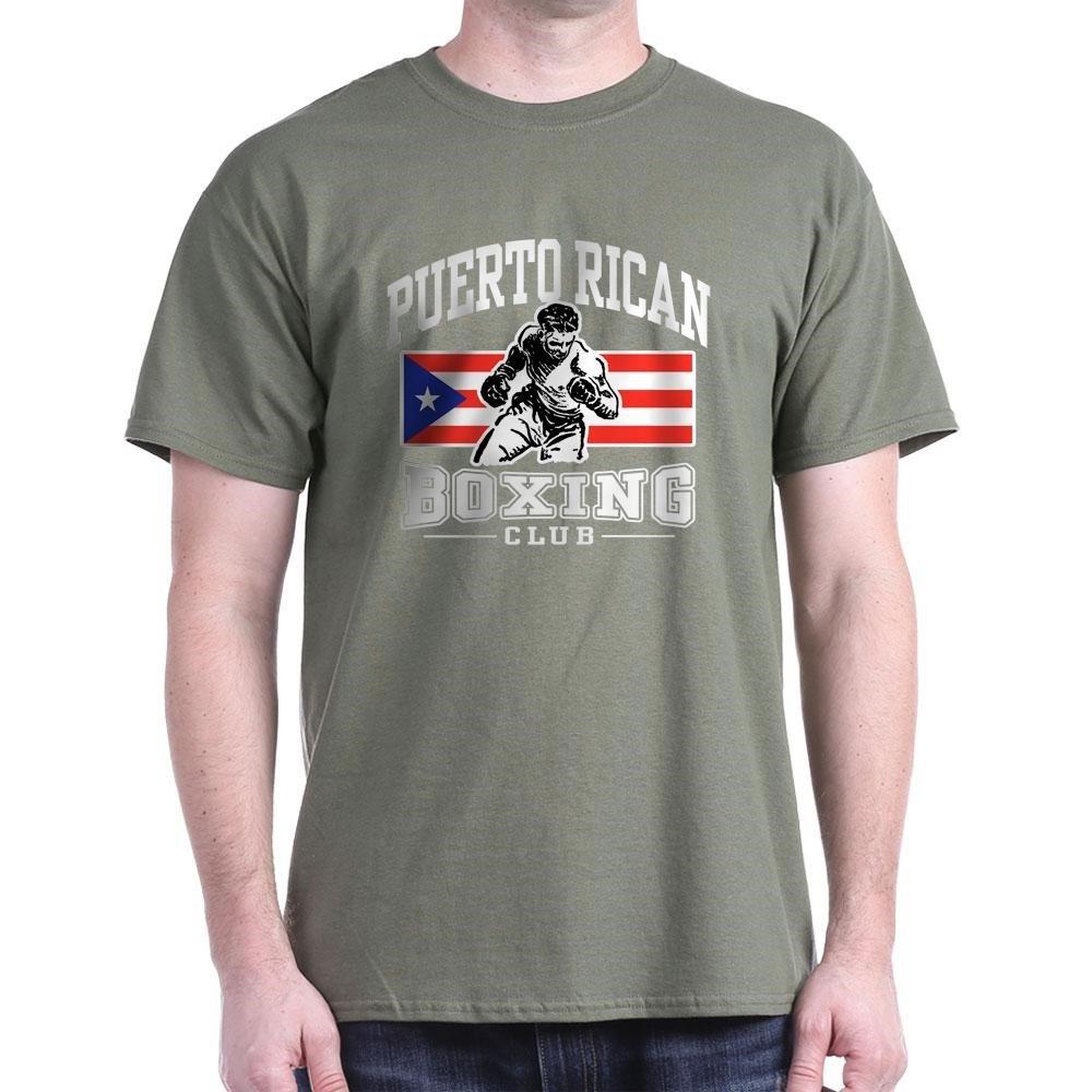 Puerto Rican Boxing Classic T Shirt 2792