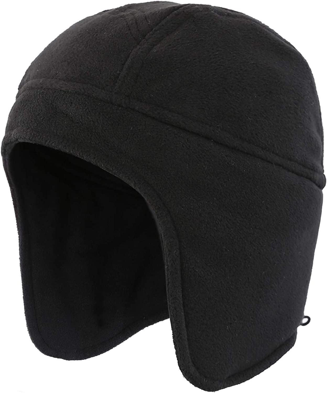 Home Prefer Mens Womens Warm Fleece Beanie Earflap Winter Hat Outdoor Skull Caps