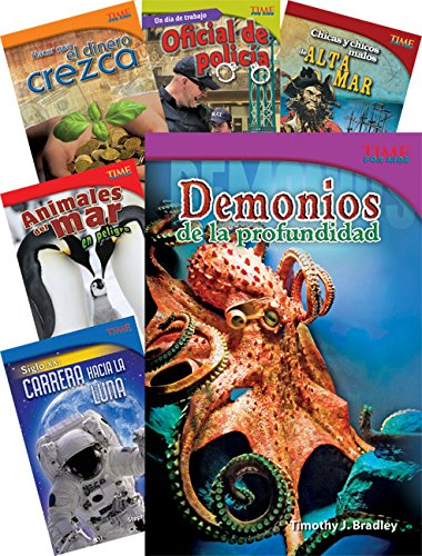 Teacher Created Materials - TIME For Kids Informational Text: (Spanish) Set 1 - 10 Book Set - Grade 5 - Guided Reading Level T - V