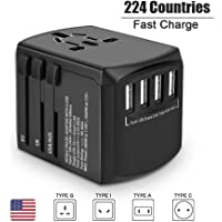 Evershop USB International Travel Adaptor with 4 USB Ports