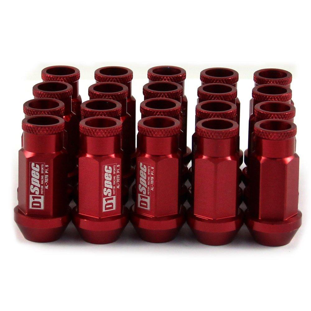 20Pcs//Set M12x1.5//M12x1.25 Lug Nut 6 Spline Wheel Drive Lug Nuts Cone Acorn Taper Seat