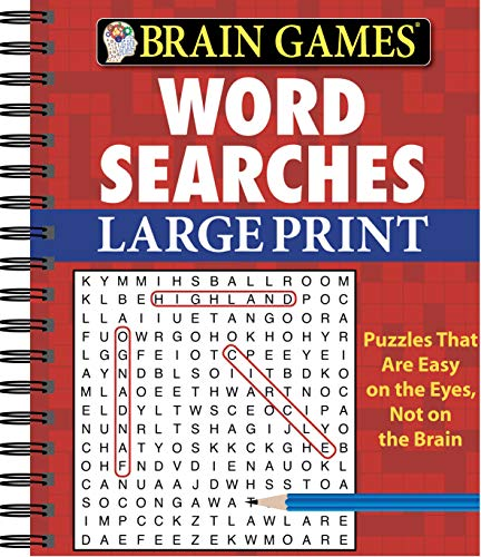 (Brain Games - Word Searches (Large)