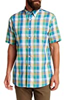 Pendleton Mens Short Sleeve Fremont Plaid Cotton Shirt 54150
