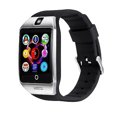 Bluetooth SmartWatch, beafup reloj inteligente pantalla táctil bluetooth reloj de pulsera/ranura para tarjeta