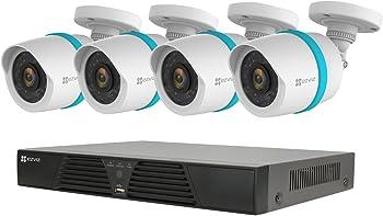 EZVIZ QUAD HD 4MP Outdoor IP PoE Surveillance System