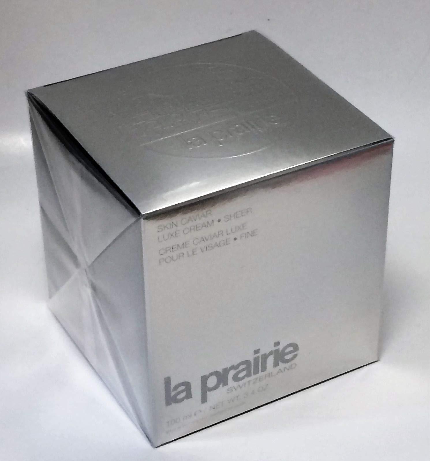 La Prairie Skin Caviar Luxe Cream Sheer 100 ml 3.4 oz