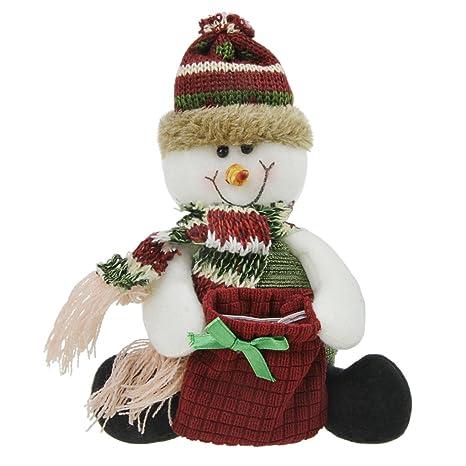 Navidad Chucherías Decoración Bolsa Reno muñeca juguete Toalla Festival Bolsa de Regalo Bolsas para niños niños