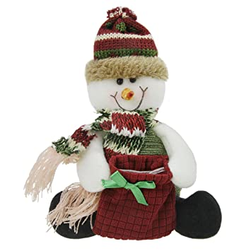 Navidad Chucherías Decoración Bolsa Reno muñeca juguete Toalla Festival Bolsa de Regalo Bolsas para niños niños pequeños animales de peluche de regalos de ...