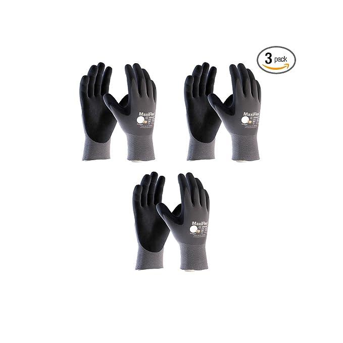 Maxiflex 34-874 Ultimate Nitrile Grip Work Gloves