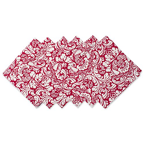Damask Holiday Photo - DII 100% Cotton, Oversized Basic 20x20