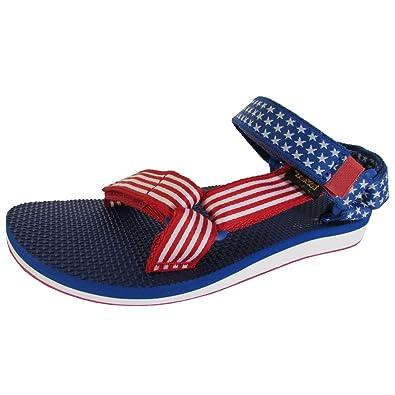 Womens Original Universal 4th Of July Sport Sandal Shoes