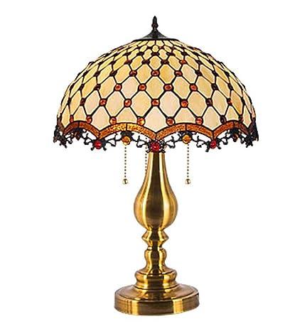 GJX 2019 Nueva lámpara de Mesa de Estilo Tiffany, 16-Inch ...