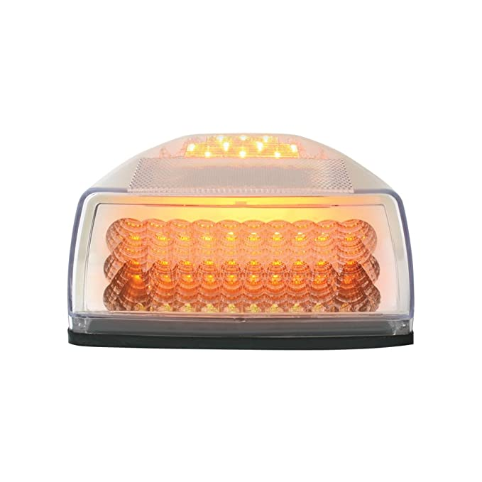 Grand General 77230 Amber 31-LED Peterbilt Headlight Turn Signal Sealed Light with 3 Wires for Front//Park//Turn Functions