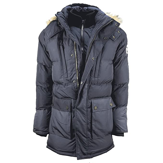 Parka Superdry SD Expedition Azul Marino