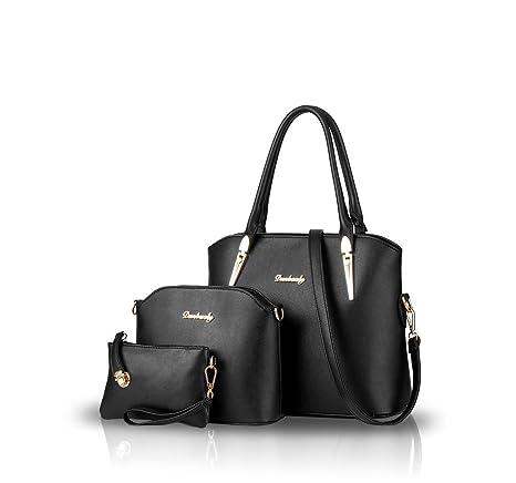 Nicole&Doris nueva bolsa compuesta hombro bolso de moda de tres piezas