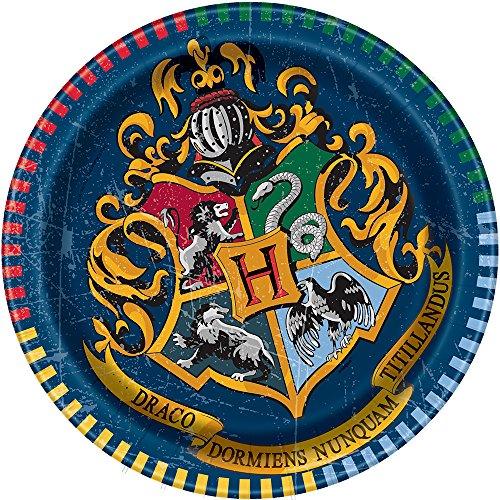 Unique Industries Harry Potter Paper Cake Plates, 8ct
