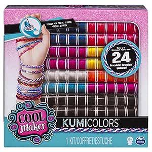 Cool Maker, KumiKreator Friendship Bracelet and Necklace Activity Kit KumiColors Original Version Multicolor
