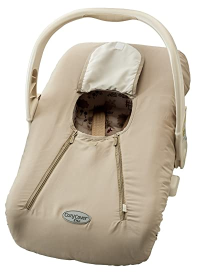 Amazon.com : EVC Cozy Cover Lite - Beige : Child Safety Car Seat ...