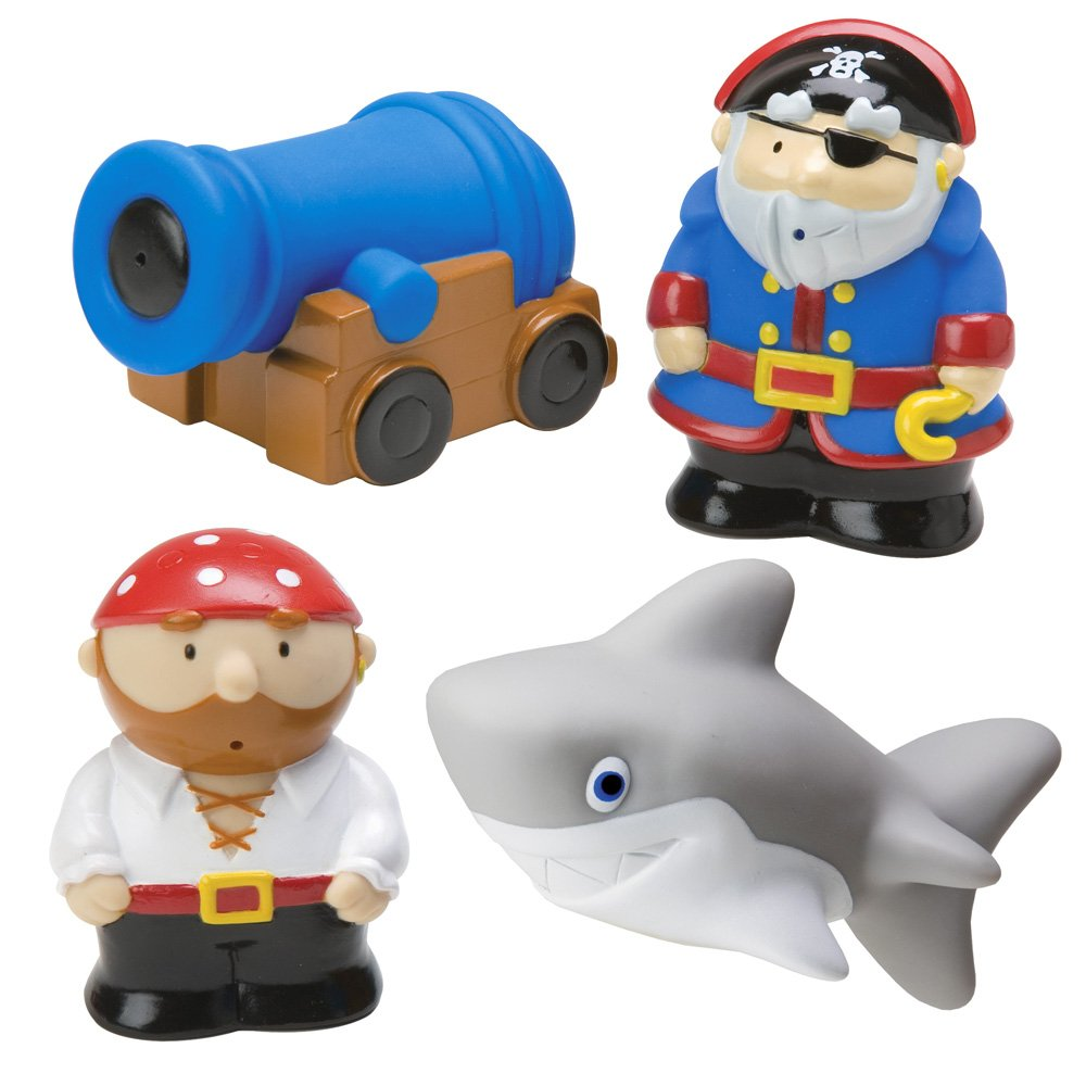 Amazon.com: ALEX Toys Rub a Dub Pirate Squirters: Toys & Games