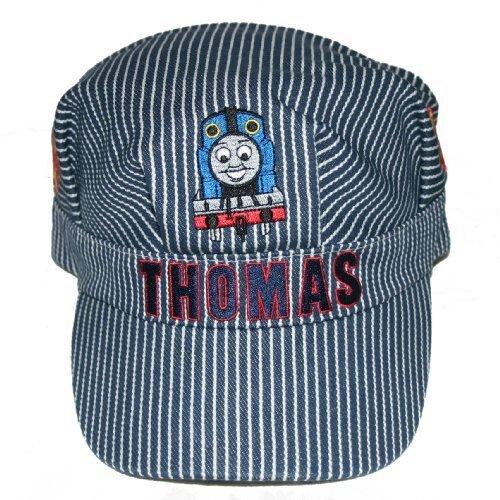 THOMAS & FRIENDS CHILDREN BLUE & WHITE STRIP ENGINEER CAP