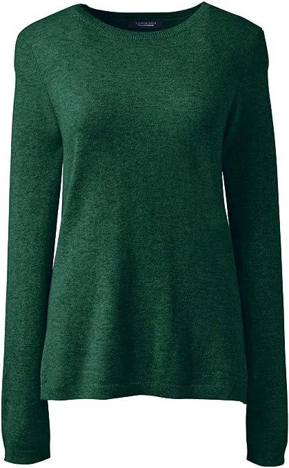 Lands' End Women's Cashmere Crewneck Sweater