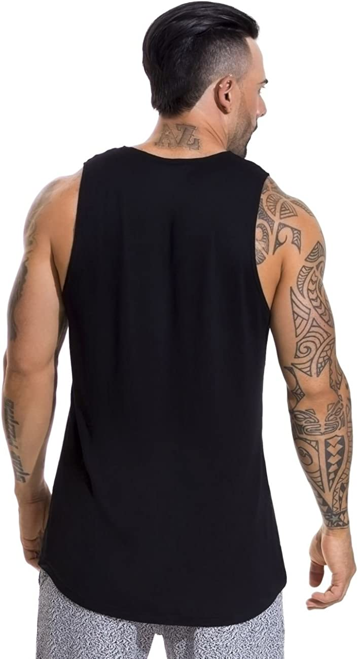 J&Or JOR Athletic Sports Wear Tanks, T-Shirts und Sweatshirts für Herren Black_style_597