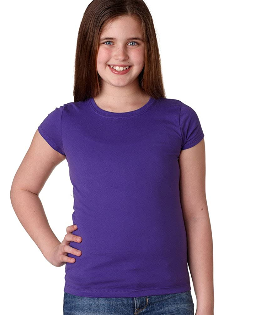 Next Level The Princess Rib Knit Combed Jersey T-Shirt