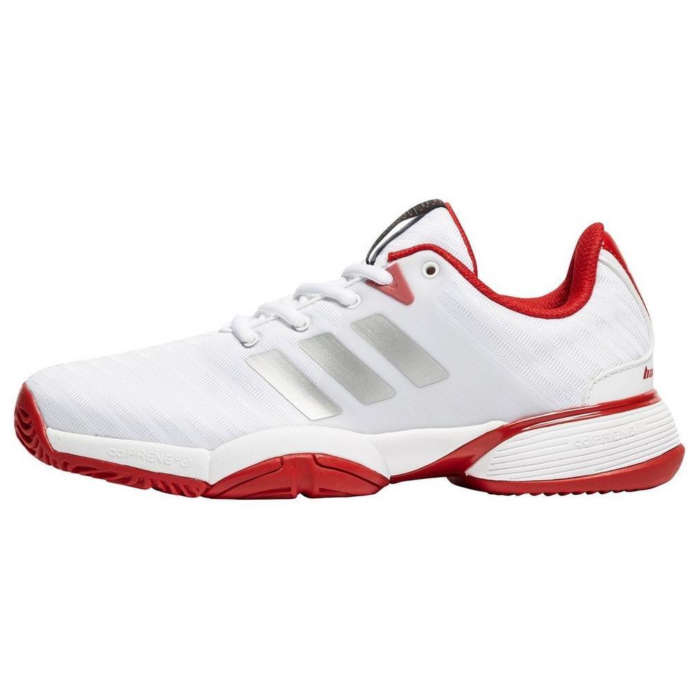 adidas Barricade 2018, Chaussures de Tennis Mixte Enfant CP9360