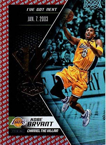 2015-16 Panini HV KB20 Channel the Villain Red MVP #8 Kobe Bryant NBA Basketball Trading Card