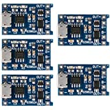 5x TP4056 Lithium Charger Module with Battery Protection Micro USB 5V 1A TE420