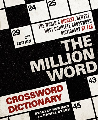 (The Million Word Crossword Dictionary, 2nd Edition )