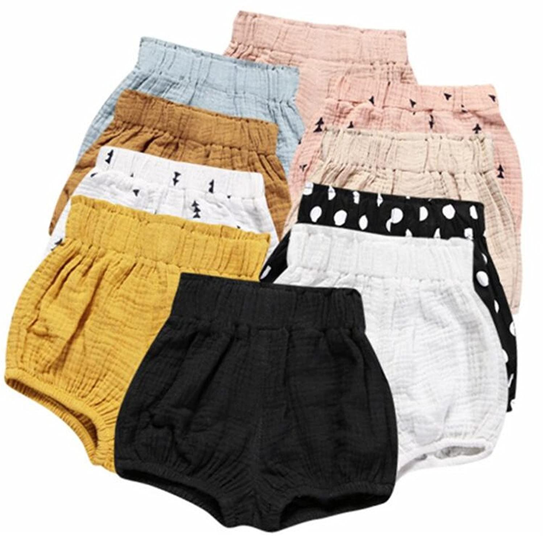 Amazon LOOLY Uni Baby Girls Boys Cotton Linen Blend Bloomer