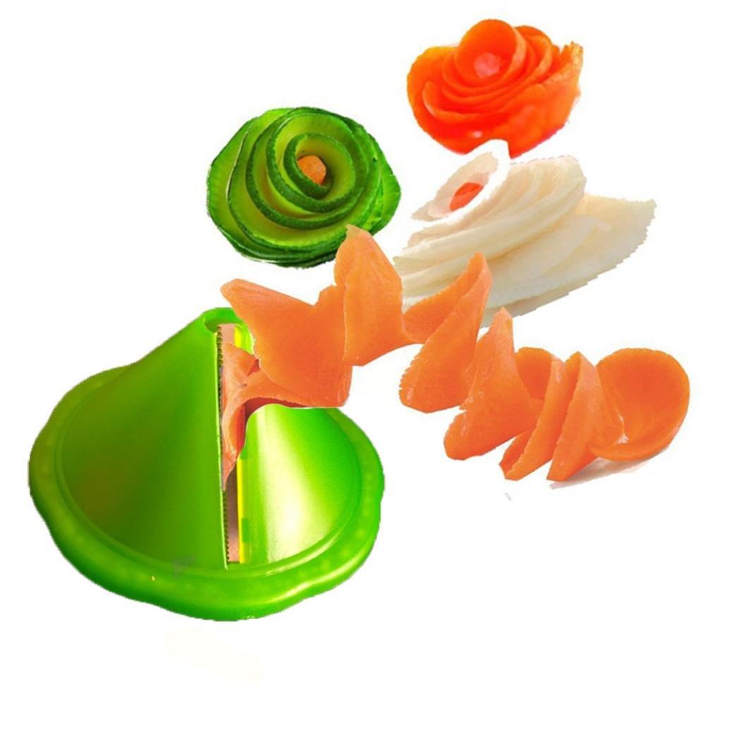 Bomdes Kitchen Gadget Creative Fruit Vegetable Peeler Slicer Grater Carve Cooking Tools Hao Tech