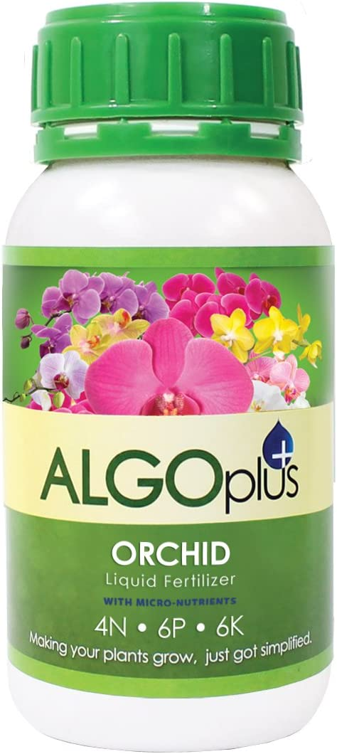 AlgoPlus Orchid Liquid Fertilizer 300ml / Plant Food - AlgoFlash - with Magnesium and Micro-Nutrients