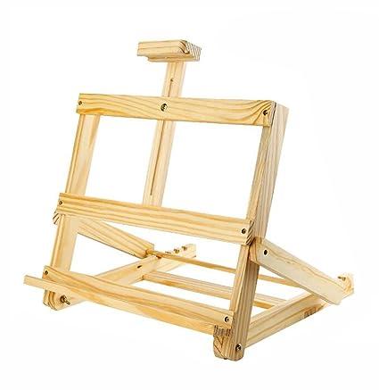 Caballetes Marco de escritorio de madera del soporte de ...