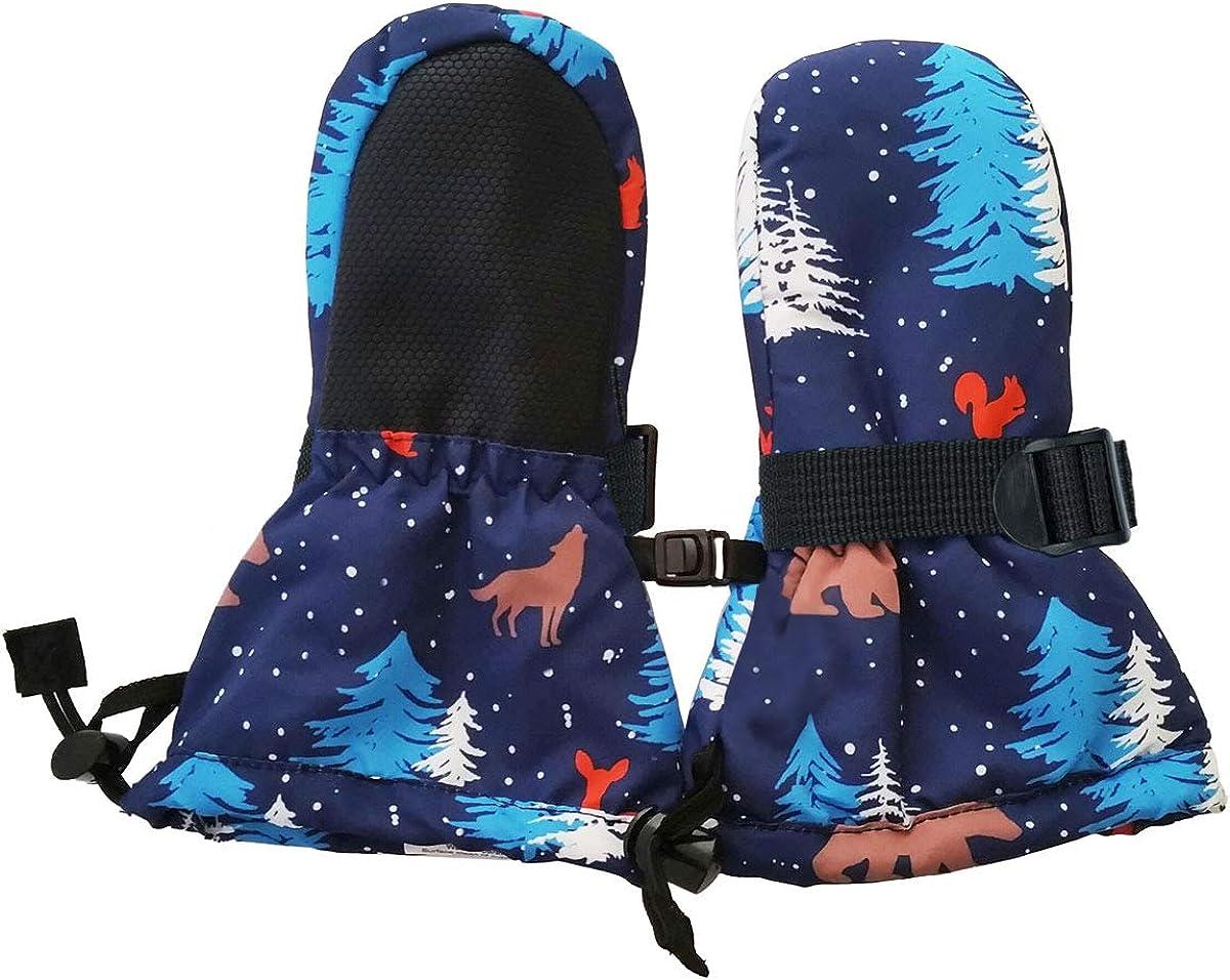Roeckl Fegen Baby Waterproof F/äustlinge Handschuhe f/ür Kleinkinder blau