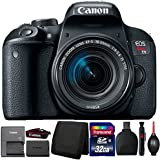 Canon EOS Rebel T7i DSLR Camera with 18-55mm IS STM Lens and Accessory Kit