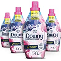 Downy Suavizante De Telas Aroma Floral 4 Unidades De 1.4L, Total 5.6L