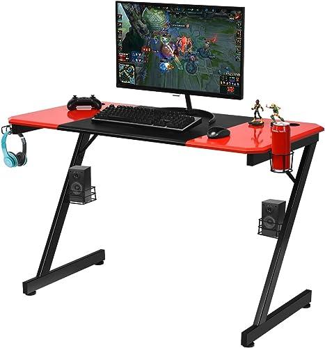 Tangkula 47 Inch Computer Desk Gaming Desk
