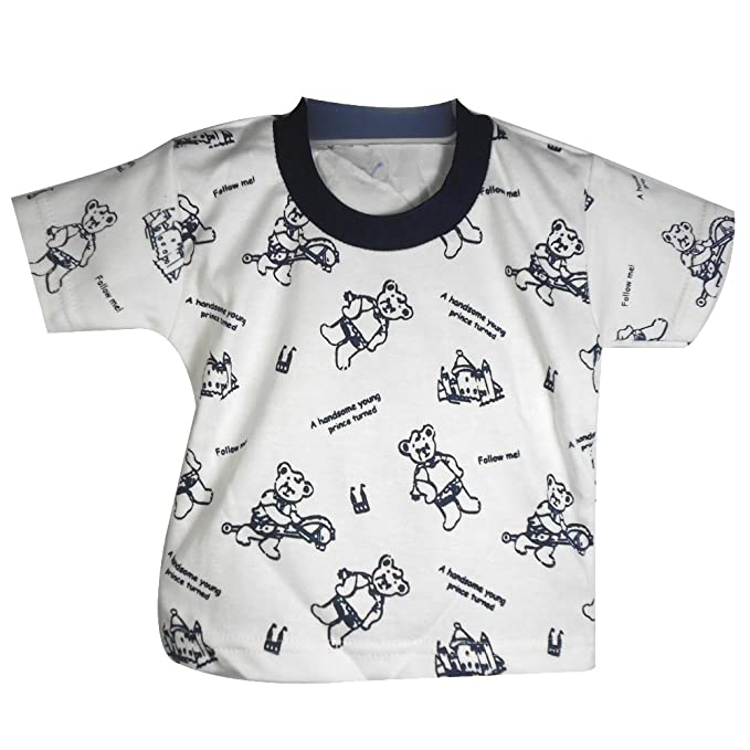 c5e270135 Baby boy dress for kids Baby Dungaree with printed White Tshirt with ...
