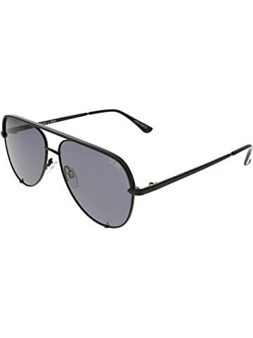 7be3e3762d Amazon.com  Quay Australia Vivienne Aviator Sunglasses in Gold Smoke ...