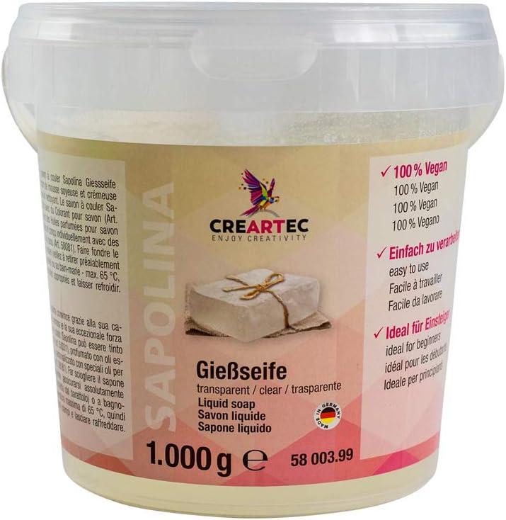 Jabón creativo de Sapolina Creartec (1000 g), color blanco