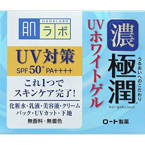 Japan Health and Beauty - Skin lab Gokujun UV white gel (SPF50...