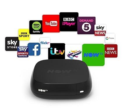 Now TV Box 2 - 1080P-YouTube - ITV Player - BBC iPlayer - 4OD - 5Demand …