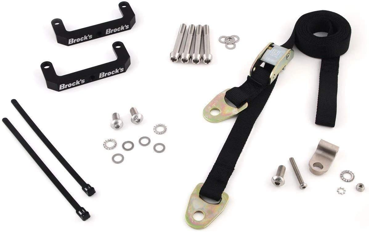 Brock/'s Radial Mount Front End Lowering Kit ZX-10R 11-15 Z900RS 18 GSXR 05-16